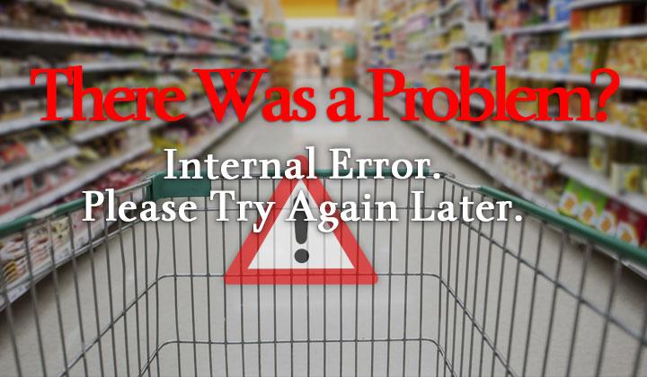 Amazon Internal Error